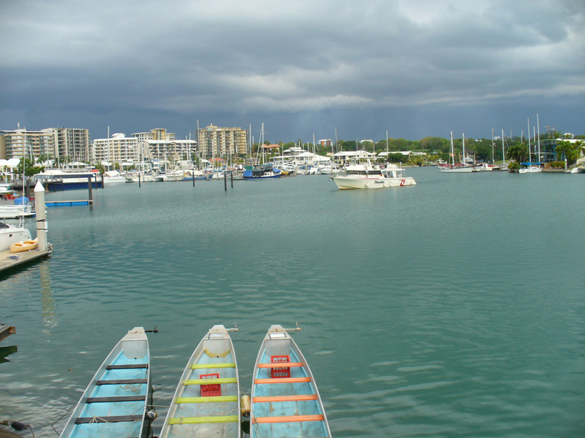 Cullen Bay Marina in Darwin