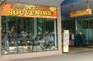Darwin souvenirs and gift shops