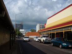 Darwin's General Post Office in Cavenagh Street in tropical
