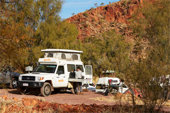 4wd Rooftop Tent Camper hire and rental from Darwin return or oneway